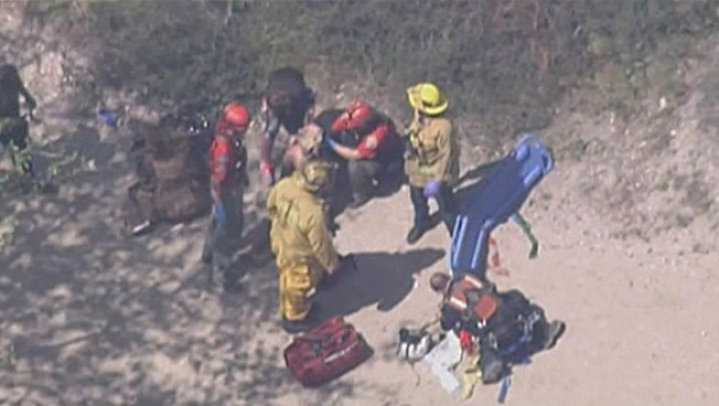 Week After Death, Crews Rescue 2 Women in Falls on Hikes at Eaton Canyon