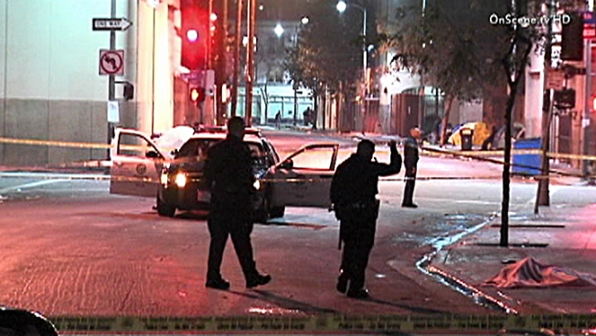 Man Killed in Skid Row Robbery