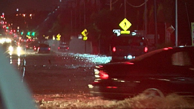 Las Vegas Thunderstorm Brings High Water to Strip