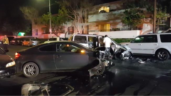Five Hospitalized in Winnetka DUI Crashes