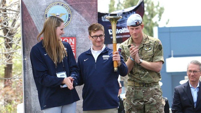 Prince Harry, Missy Franklin Open Warrior Games