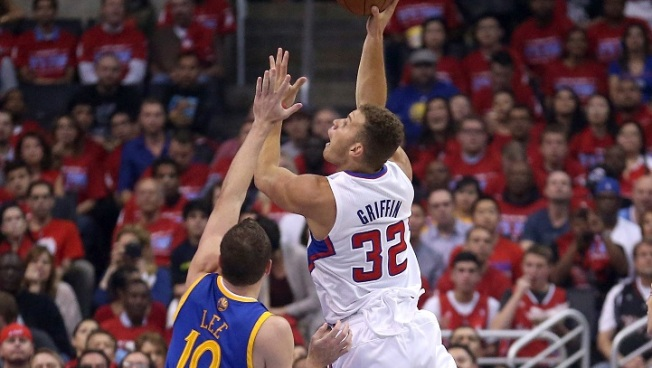 Griffin Scores 35, Clippers Destroy Warriors in Game 2