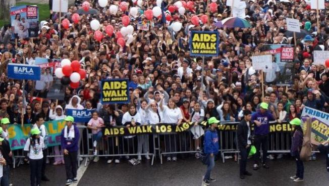 NBC4 Sponsors 27th Annual AIDS Walk Los Angeles