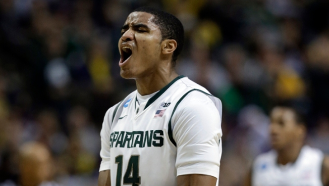 Michigan State Advances Past Memphis 70-48
