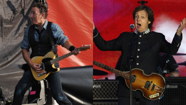 Springsteen, McCartney Silenced at London Show