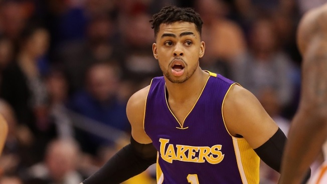 The Lakers selected D'Angelo Russell with the No. 2 overall draft pick and  plan to throw him into the fire right away alongside Kobe Bryant.