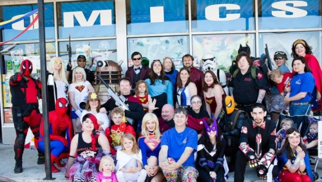 Superheroes Unite for Free Comic Book Day