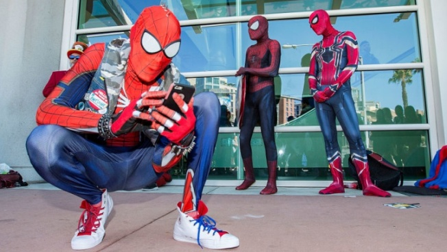 This Week: Comic-Con to Spin Its Web