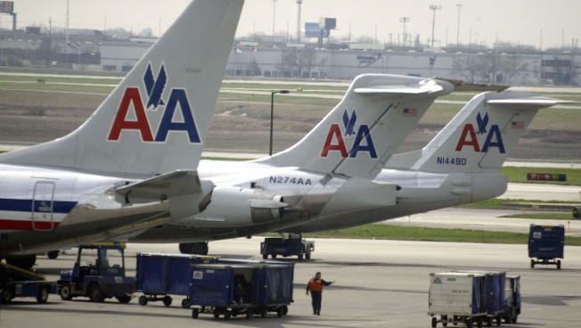 American Airlines Flight Forced to Land in Texas Due to Severe Weather