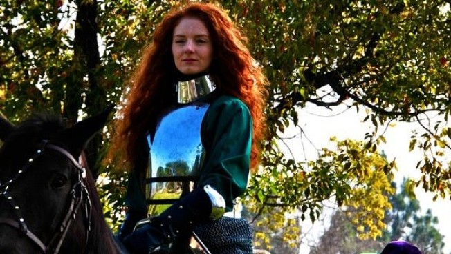 Meet Ren Faire's First Female Jouster
