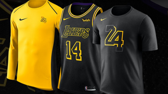 a00849e140f3 Kobe Bryant Designs New Lakers  Jersey - NBC Southern California