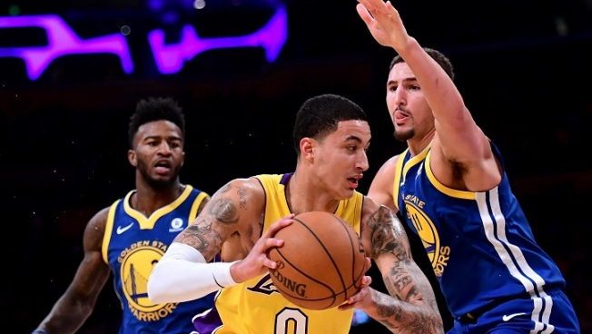 Durant Scores 33 Points, Says Lakers Rookie Kuzma 'Is a Problem'