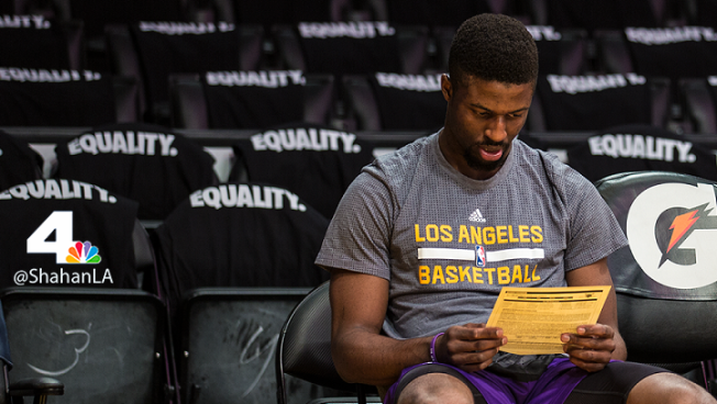 Lakers Waive LA Local David Nwaba