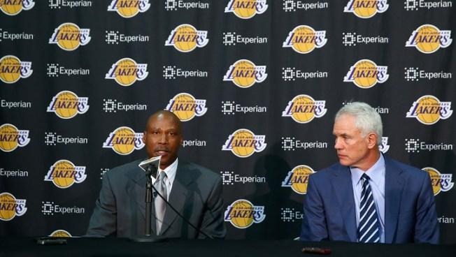 GM Talks Lakers Future, New Coach Luke Walton
