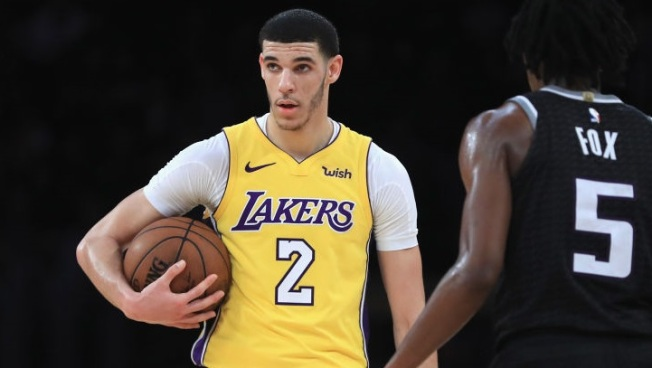 88ff830bd776 Lonzo Ball 11th in NBA Jersey Sales