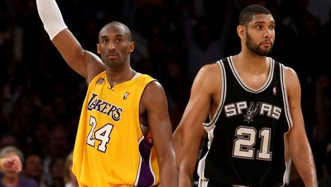 73369333cda Lakers Host Spurs  Kobe v. Duncan - NBC Southern California