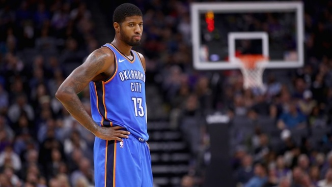 Paul George, Thunder Visit Lakers Wednesday