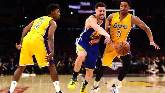 Warriors Snap Lakers' Winning Streak