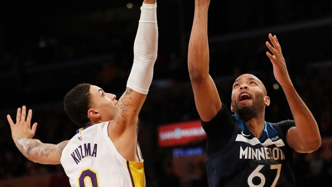 Lakers Can't Tame Timberwolves  on Xmas