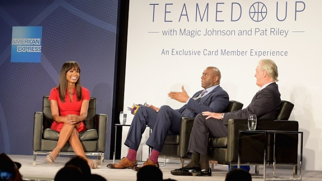 Pat Riley calls Magic Johnson 'the best ever'