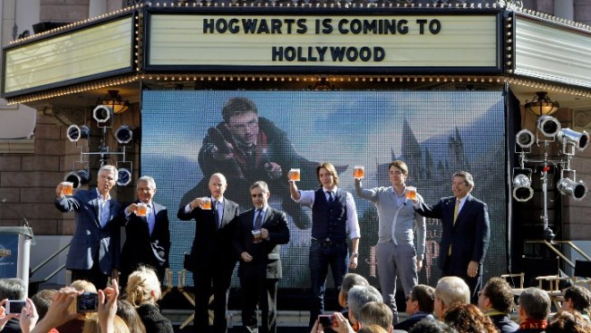Luminaries Raise a Butterbeer to Harry