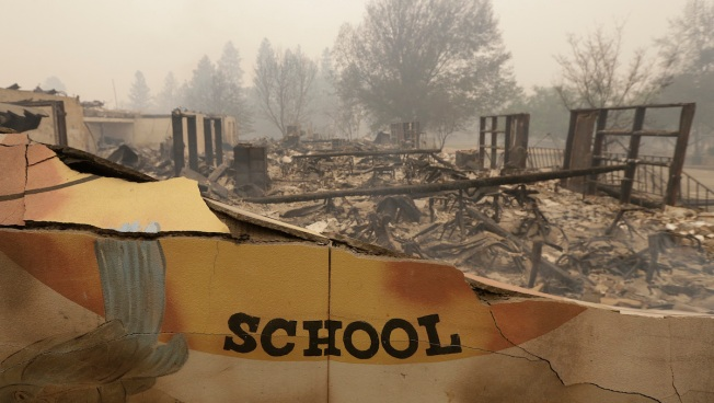 Bus Driver Evacuated Students Amid Northern California Fire