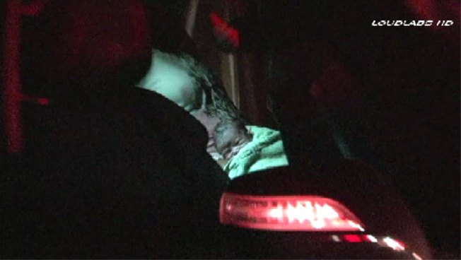 Mom Delivers Baby in Backseat While Stopped on SoCal Freeway