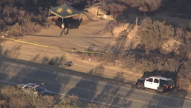Burned Body Found in Castaic Area