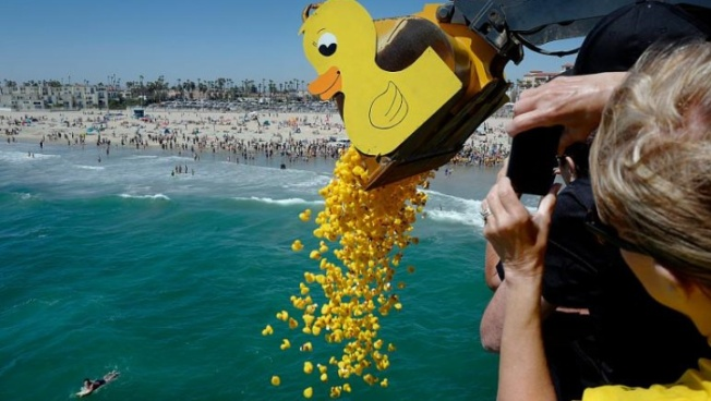 Try Your Luck at a Give-Back Duck-a-Thon