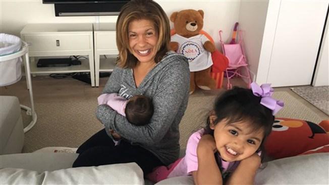 Hoda Kotb Announces She Has Adopted Baby Daughter No. 2