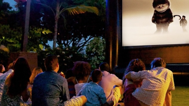 Hotel Irvine: Movies in the Backyard