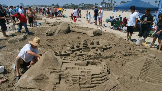 Sand Sculpture Fest: Build Yours in Long Beach