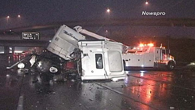 Rain Blamed For Sixfold Jump in LA Crashes