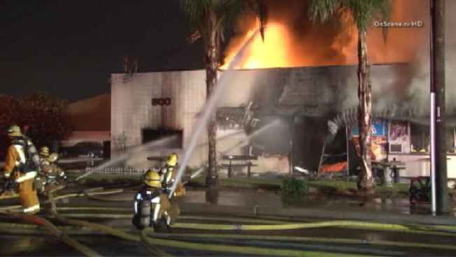 Crews Knock Down Restaurant Fire in Orange
