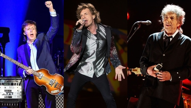 Rock Legends McCartney, Stones, Dylan May Play New Desert Fest