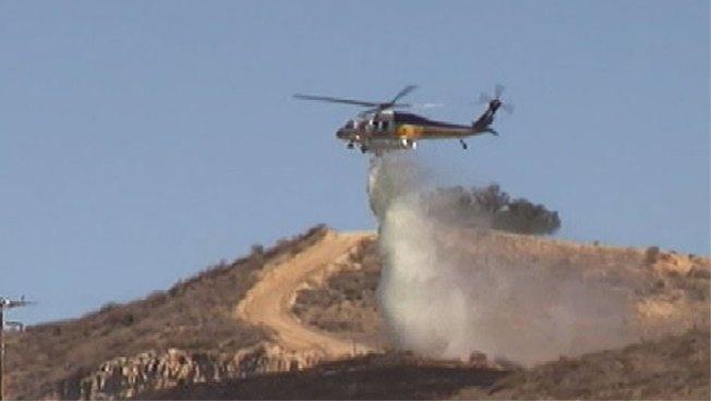 Crews Knock Down Santa Clarita Brush Fire