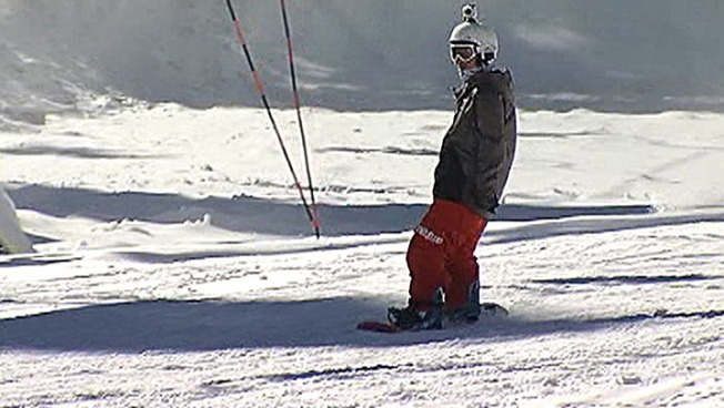 Thousands of Skiers, Snowboarders Hit SoCal Slopes