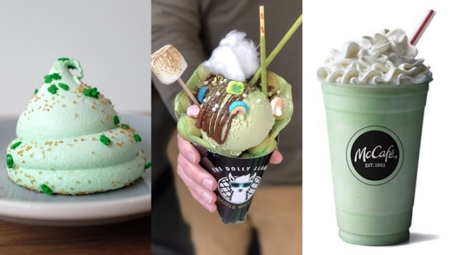 Find a Rainbow of Sweet Treats for St. Patrick's Day