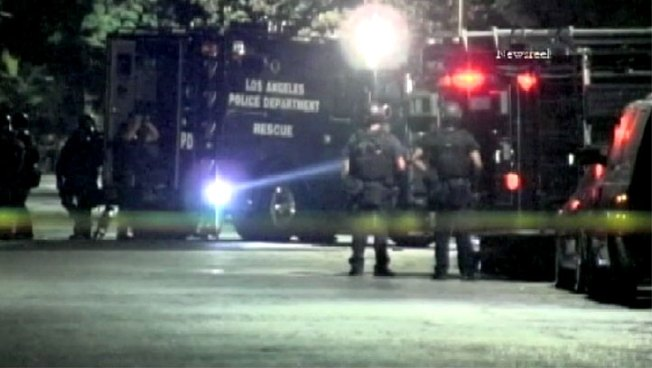 Person Who Fired Shots In Custody After SWAT Standoff in Sylmar