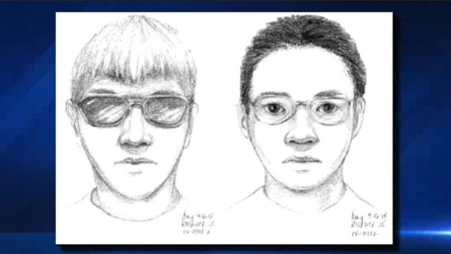Sketches Released in Possible UC Riverside Attacks