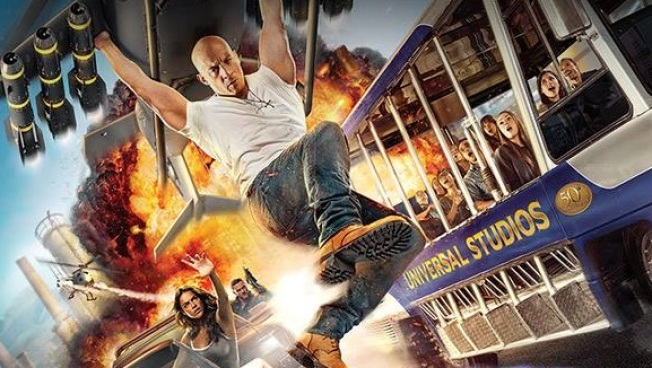 Opening: New Fast & Furious Thrill Ride