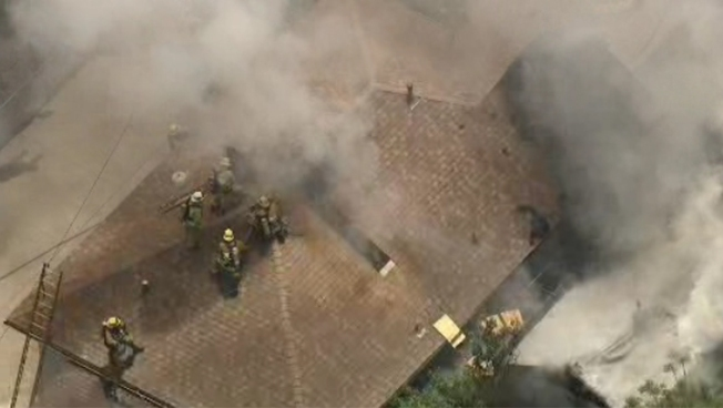 Firefighters Extinguish House Blaze in Lincoln Heights