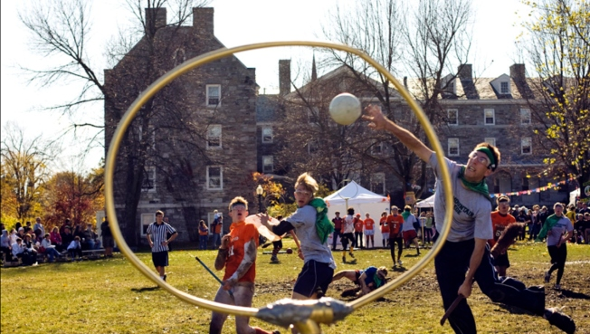 Play Quidditch Like Harry Potter