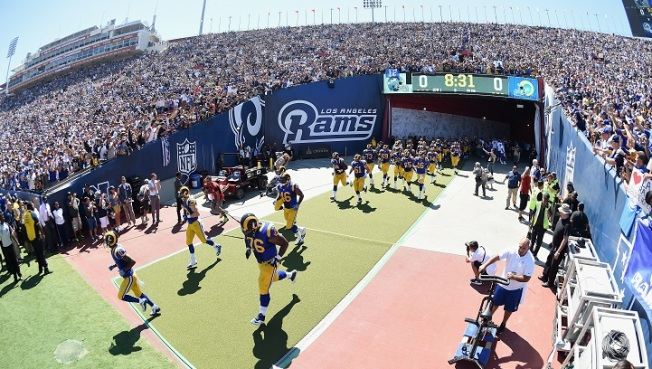 LA Rams Claim First Victory in 22 Years