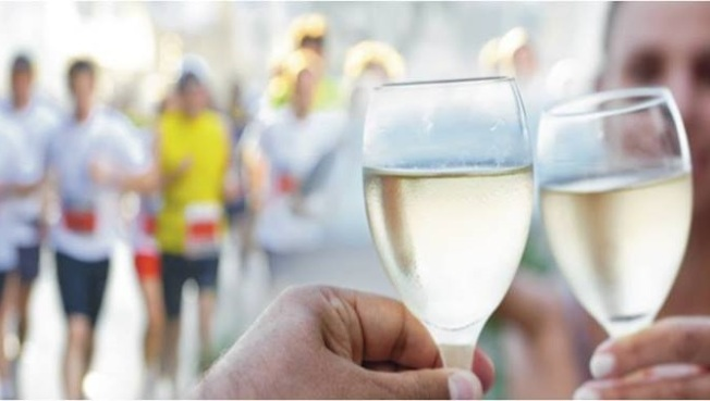 Chardonnay Run: The Soiree Starts at the Finish Line