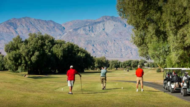 Offbeat Easter Tradition: Death Valley Golf