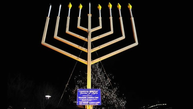Menorah Lightings, Santa Anita to Santa Monica