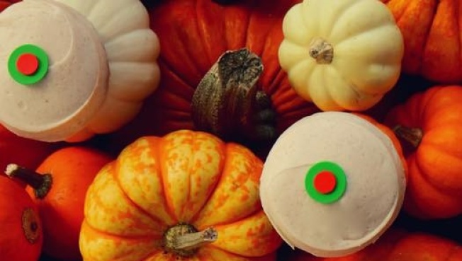 Fall Sign: Sprinkles Pumpkin Cupcake Returns