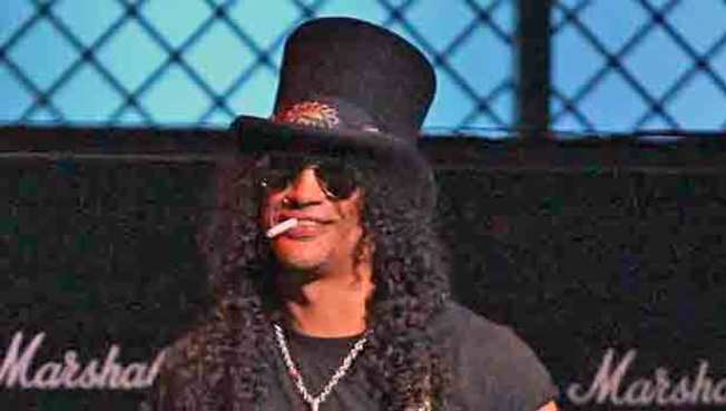 Home Lawsuit Coming Up Roses for Slash, Wife