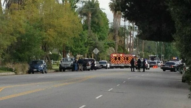 Woodland Hills Barricade Ends With Arrest